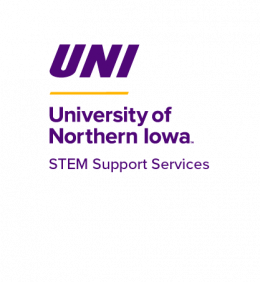 University of Northern Iowa - STEM Support Services - promoting STEM across campus, supporting outreach and scholarship, connecting the UNI STEM community.